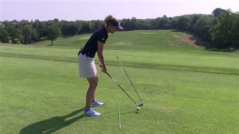 golf swing under plane hooking in problems ball striking