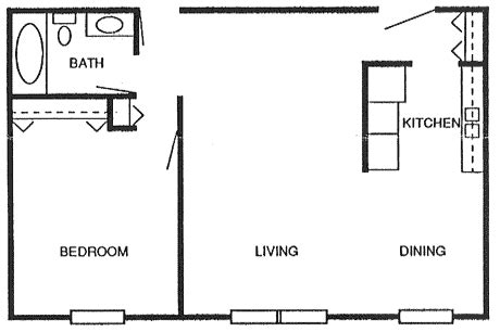 how big is 800 square feet 800 square foot apartment floor plan preparedness pro