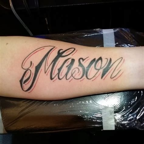 name on forearm tattoo picture at checkoutmyink com