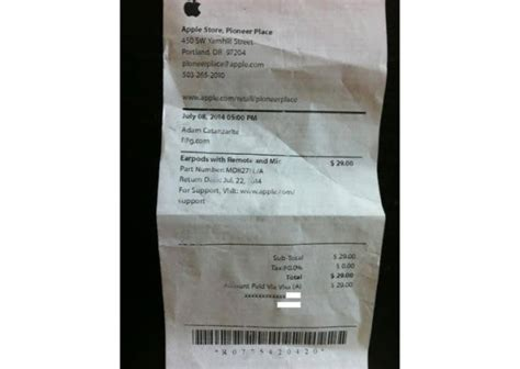 apple store receipt template customer claims apple store printed homophobic slur on his