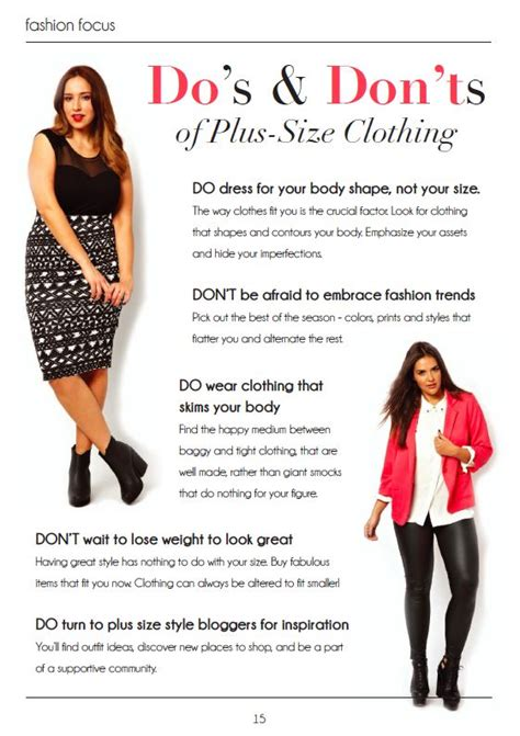 Style Tips by Plus Size Fashion Style Tips And Tricks Plussize Fashion