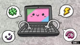 how to make doodle in computer kawaii computer easy and kawaii drawings by garbi kw