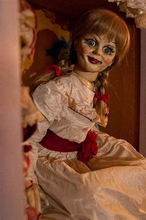 annabelle doll meet annabelle the big screen s newest terrifying doll