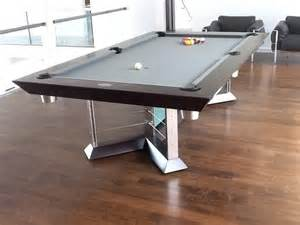 glass pool table by mitchell pool tables modern living