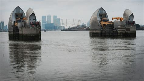 thames barrier breach records reveal plans to flood essex considered anglia