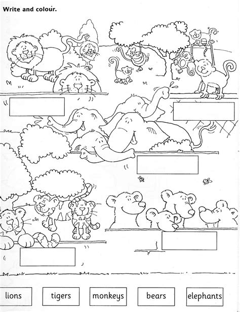 Galerry animal homes coloring