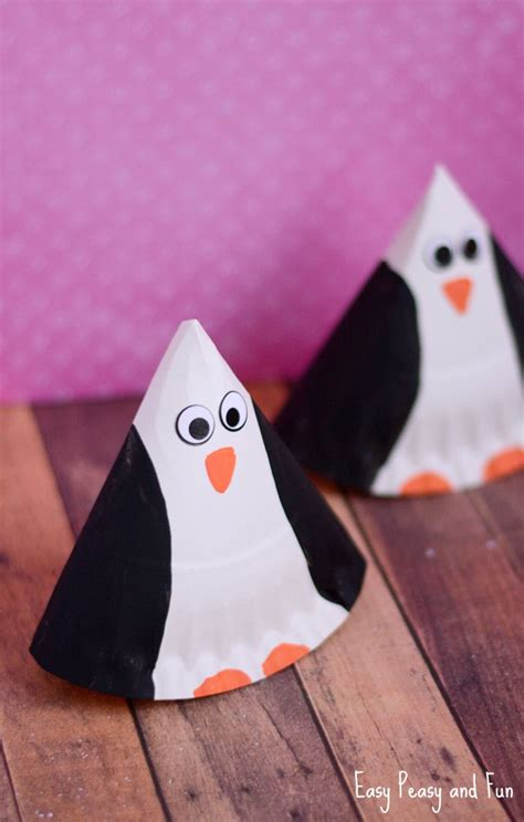 Paper Plate Penguin Craft - 1125 best images about animaux des zones polaires on