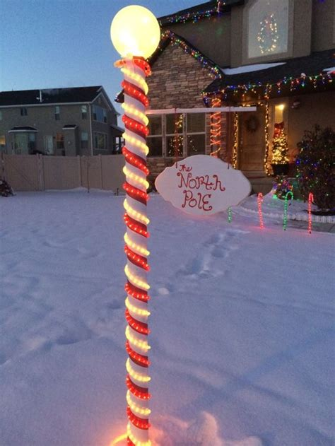 christmas pole ideas coolest pole sign diy diy classroom front yards and diy and