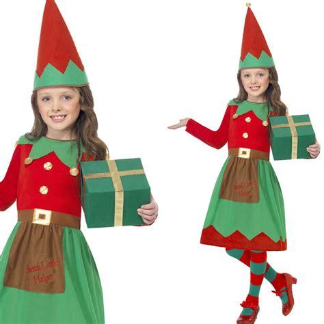 printable elf outfit kids elf costume girls elf dress hat childrens