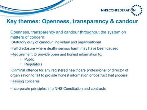 key themes meaning what francis means for the nhs