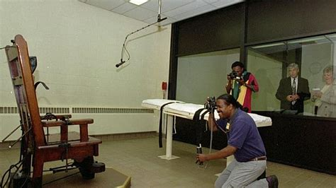 Real Electric Chair Execution by Secrets Of The Execution Chamber Revealed
