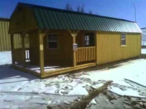 Derksen Building Floor Plans by 12 X 32 Deluxed Lofted Barn Cabin Derksen Buildings Dba