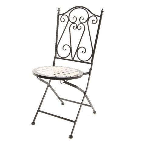 sedie in ferro battuto da giardino sedia da giardino da 239 la stile ferro battuto sedia