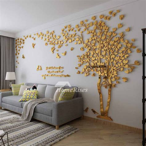 decals for room wall decals for living room tree acrylic home personalised mirror