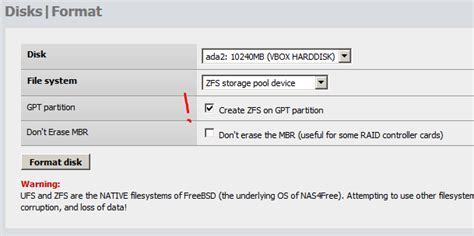 Freebsd Format Gpt Disk | freenas unable to gpt format the disk скачать