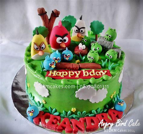 Berkualitas Cake Brush Kuas Kue cake angry bird jember bondowoso dkm cakes toko kue jember