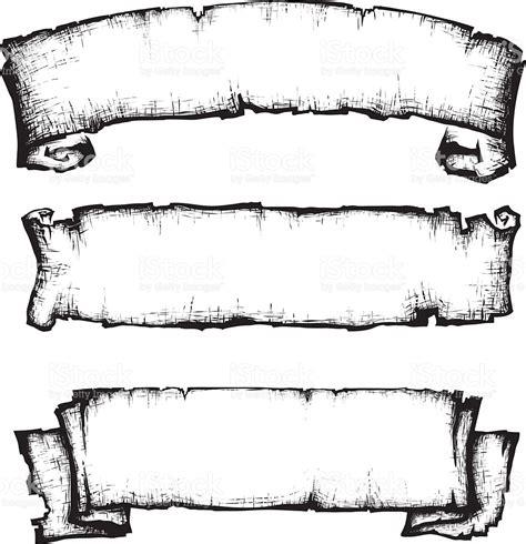 printable banner scroll scroll paper banner stock vector art 589419296 istock