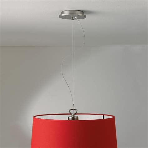 pendant light suspension kit astro matt nickel pendant light with suspension kit at uk