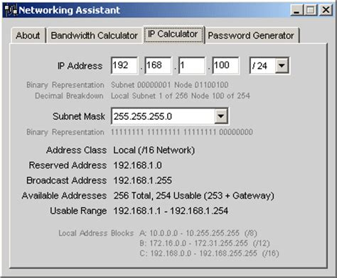calculator ip start by entering any valid ip address in the space
