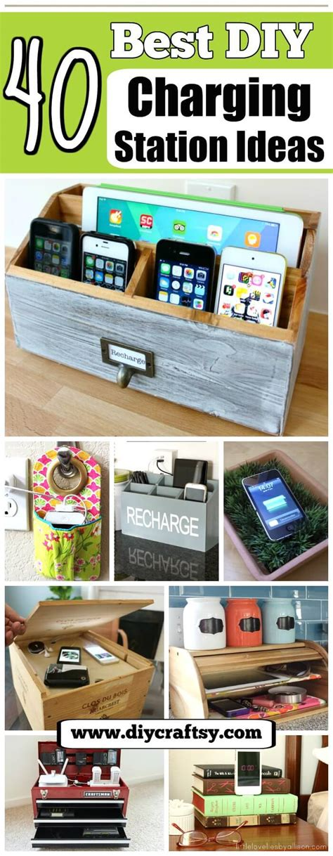 diy charging station ideas 40 best diy charging station ideas easy simple unique