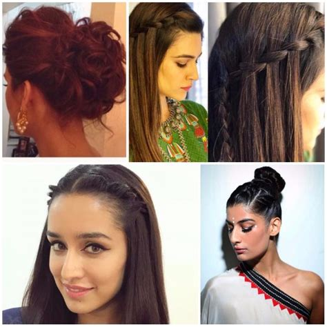 hairstyles xy 8 chic hairstyles to try this festive season pinkvilla