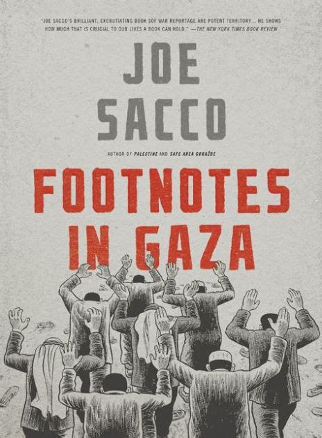 libro footnotes in gaza footnotes in gaza by joe sacco 9780805092776 paperback barnes noble 174