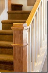 Stair Rail Post by Pics Photos Stairs Railing Newel Post