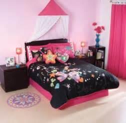 Pink And Black Bedding Sets Black Pink Butterfly Comforter Bedding Set 7 Pcs