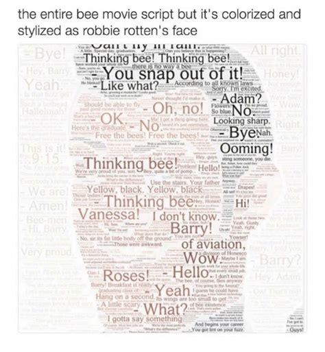 bee script meme 25 best memes about bee script bee script memes