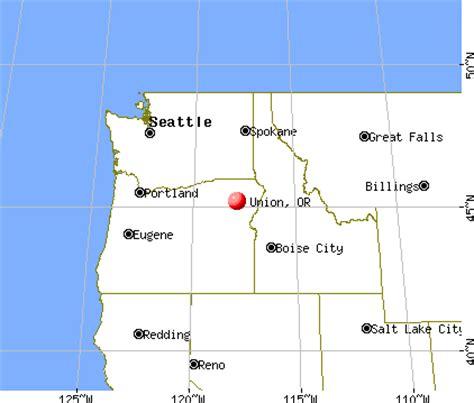 map of union oregon union oregon or 97883 profile population maps real