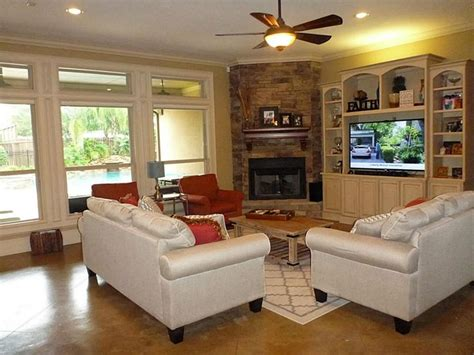 how to furnish living room corners best 25 corner fireplace decorating ideas on