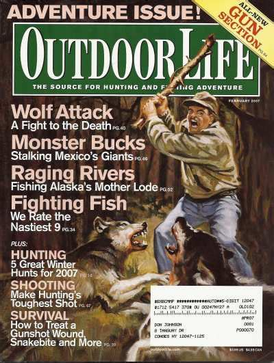 vintage february 1945 outdoor life magazine hunting vintage outdoor life magazine february 2007 like new