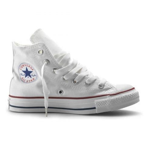Converse Allstar White converse converse all hi optical white b5 unisex trainers converse from brands uk uk