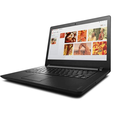 Lenovo Ideapad 110 14ibr 14 Inch Laptop Non Windows Black lenovo ideapad 110 14ibr intel n3160 2gb 1tb 14 inch dos