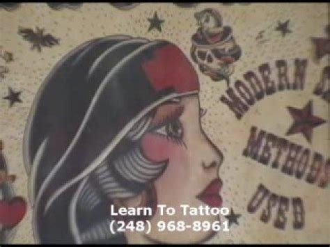 tattoo artist training artist course