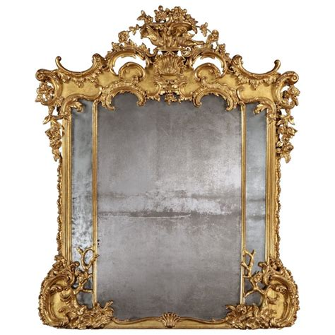 a fine antique giltwood mirror at 1stdibs