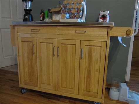 Kitchen Cabinets On Wheels by Kitchen How To Make Kitchen Islands With Wheels Build A