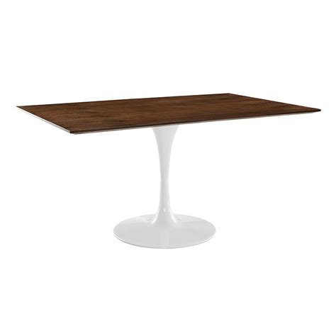 Odyssey Dining Table Odyssey 60 Quot Rectangle Walnut Modern Dining Table Eurway