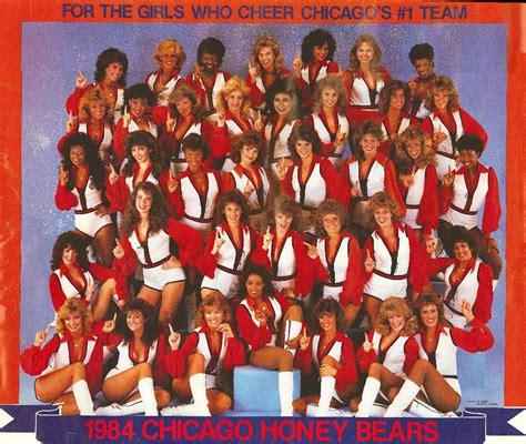 cheryl burtons as a bears cheerleader twenty five years ago today the chicago honey bears rode