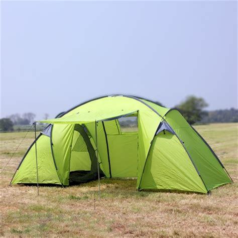 2 room pop up tent gear trekker 6 2 room waterproof tent cing co uk