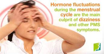 dizzy light headed nausea dizziness during periods a cause for concern