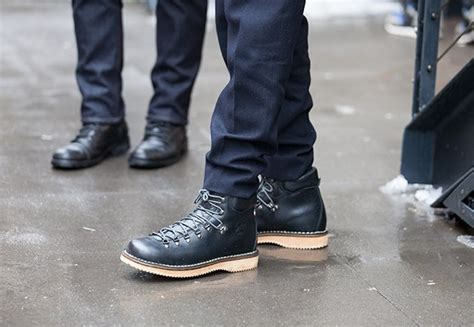 gq mens boots style the best snow fighting boots in new york