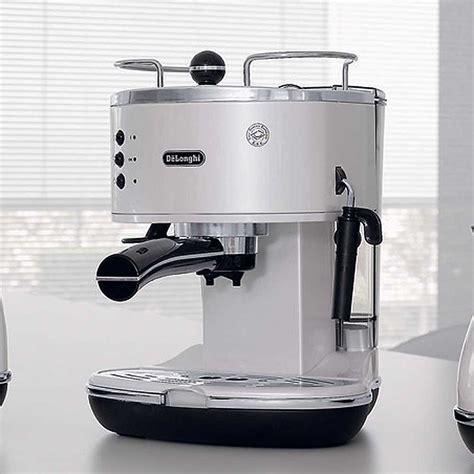 Delonghi Coffe Maker Eco310 W delonghi icona retro espresso cappuccino machine