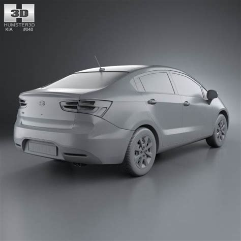 Kia Sedan Models List Kia Us Sedan 2012 3d Model Hum3d