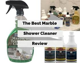 ultimate buyers guide to the best marble shower cleaner
