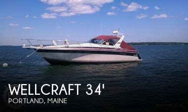 wellcraft boats for sale in maine wellcraft 3400 gransport for sale in portland me for