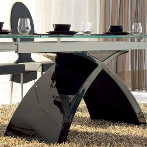 tavolo nero lucido tokyo a 6951 tavolo allungabile tonin casa in