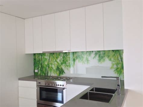 kitchen glass backsplash with digital printing made of digitally printed glass splashbacks from ultimate glass