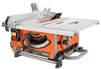 bench saw vs table saw ridgid compact table saw r45161 at home depot a good buy