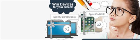 k 12 education technology giveaway 2017 wag site slider bucket graphic - My College Options Laptop Giveaway